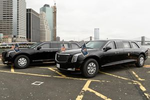 'Quái thú 2.0' và những phương tiện mới trong dàn xe bảo vệ TT Trump