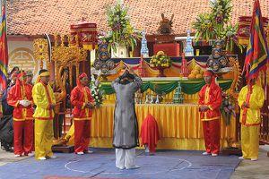 Quan xã hứa hoàn thành nhiệm vụ trong lễ hội Minh Thề