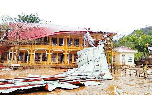 Sơn La, Yên Bái khắc phục hậu quả mưa đá, dông lốc