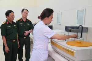 Tiếp tục thực hiện toàn diện, hiệu quả bảo hiểm y tế đối với quân nhân tại ngũ