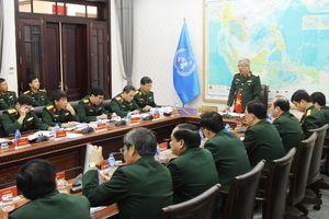 Tích cực chuẩn bị cho Đội Công binh tham gia hoạt động gìn giữ hòa bình Liên hợp quốc