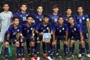 U22 Campuchia chiếm vị trí số 1 bảng B sau thắng lợi trước U22 Malaysia