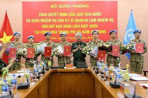 Đội Công binh Việt Nam sẽ thay thế lực lượng của Anh tại Nam Sudan?