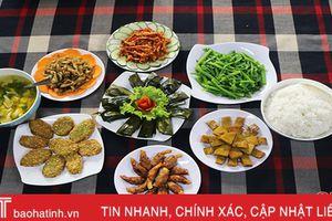Cúng cỗ chay ngày rằm - lựa chọn mới của người dân Hà Tĩnh