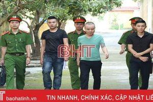Cảnh sát Hình sự Hà Tĩnh bắt nhóm đối tượng giữ người trái phép để đòi nợ