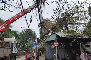 Thái Nguyên khẩn trương khắc phục hậu quả do dông lốc