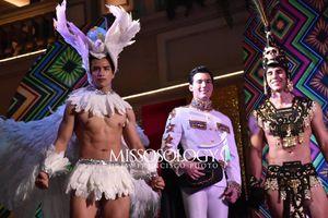 Hóa bồ câu siêu ấn tượng, Trịnh Bảo lọt top 10 trang phục dân tộc đẹp nhất Mr International