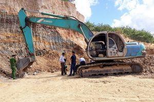Kon Tum: Kiểm tra tình trạng khai thác khoáng sản trái phép tại thôn Thanh Trung
