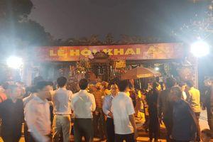 Những 'hạt sạn' tại Lễ hội đền Trần Nam Định 2019