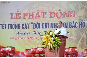 Thủ tướng muốn mỗi gia đình Thủ đô trồng một cây xanh