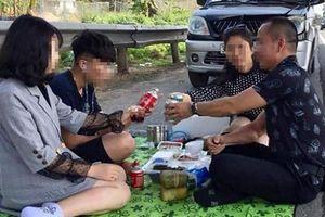 Lái xe 'ăn uống' tại đường cao tốc Nội Bài - Lào Cai: 'Tôi thực sự ân hận'
