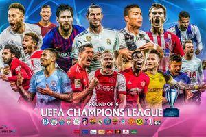 Lịch thi đấu các trận cầu đinh Champions League và Europa League tuần này