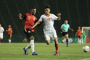 Thắng đậm Timor Leste, U22 Việt Nam sớm giành vé bán kết giải Đông Nam Á