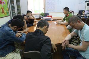 7 người dương tính ma túy đang say sưa chơi tại tiệm game bắn cá