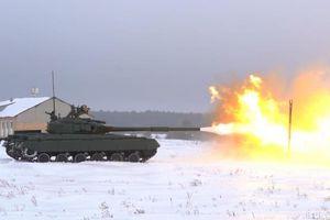 Quân đội Ukraine hớn hở khoe 'cơ bắp' với 100 tăng T-64 cải tiến