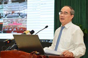 Bí thư Thành ủy TPHCM Nguyễn Thiện Nhân: Triệt để, đồng bộ và tăng tốc cải cách hành chính