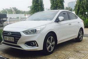 Hyundai Accent biển 'tứ quý 9' bán chỉ 850 triệu tại HN