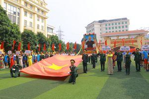 Tổng duyệt Lễ khai mạc Chung kết Giải bóng chuyền toàn lực lượng BĐBP 2019