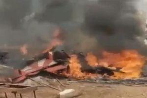 Hai máy bay quân sự Ấn Độ đâm nhau trong lúc diễn tập