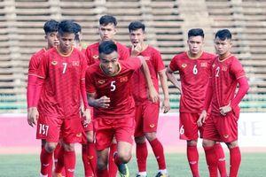 U.22 Việt Nam sẵn sàng cho lượt trận thứ 2 với Timor Leste