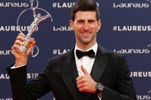 Trở lại ngoạn mục, Djokovic ẵm giải 'Nhân vật thể thao của năm 2018'