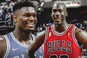 Zion Williamson tái hiện cú úp rổ 'kinh điển' của Michael Jordan