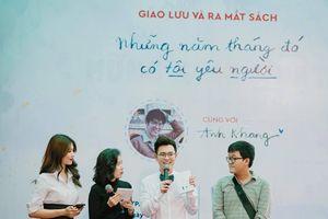 'Hoàng tử u sầu' Anh Khang: 'Tôi luôn nghĩ về tình yêu tuổi trẻ bằng tất cả sự trân trọng và tiếc nuối'