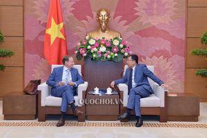 Phó Chủ nhiệm Ủy ban Đối ngoại Vũ Hải hà tiếp Đại sứ eu tại Việt Nam