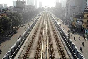 Toàn cảnh đường sắt Cát Linh - Hà Đông trước ngày khai thác thương mại