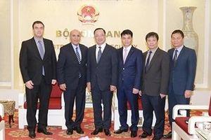 Thứ trưởng Nguyễn Văn Thành tiếp nguyên Phó Thủ tướng Israel