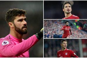 Đội hình hoàn mỹ kết hợp giữa Liverpool và Bayern Munich