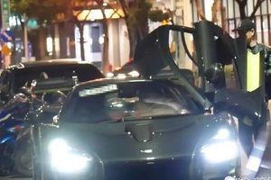 'Đoàn Dự' Lâm Chí Dĩnh gây chú ý khi lái siêu xe triệu USD trên phố