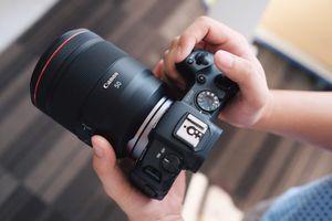 Mirrorless full-frame của Canon về VN, giá 38 triệu đồng