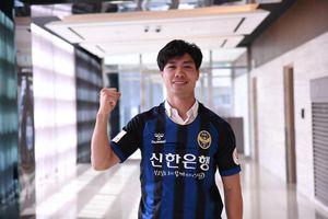 Công Phượng ghi bàn cho Incheon United ngay trận ra mắt