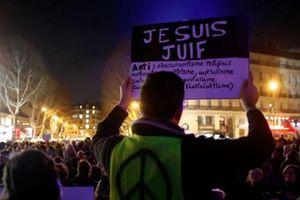 Người dân Pháp xuống đường phản đối chủ nghĩa bài Do Thái