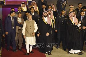 Thái tử Saudi Arabia thăm Ấn Độ
