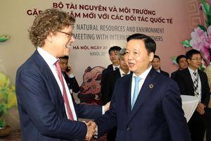 Bộ Tài nguyên và Môi trường gặp mặt các đối tác Quốc tế