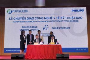 Bệnh viện Đa khoa Phương Đông tiếp nhận chuyển giao công nghệ y tế kỹ thuật cao từ Công ty Philips Việt Nam