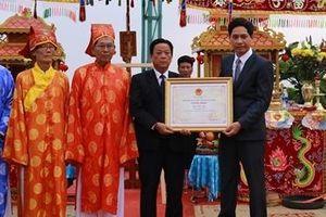 Trao Bằng chứng nhận Lễ hội Cầu ngư tại Đà Nẵng di sản văn hóa phi vật thể quốc gia