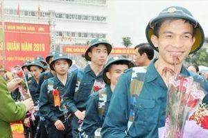 Quân khu 3 đảm bảo giao nhận quân nhanh gọn và an toàn