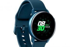 Ngắm đồng hồ thông minh Galaxy Watch Active trước ngày ra mắt