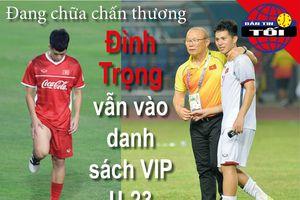 HLV Park Hang-seo điền tên Đình Trọng vào danh sách U-23