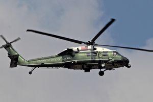 Marine One - siêu trực thăng chống tên lửa của TT Trump tới VN
