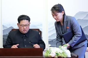 Em gái xinh đẹp sẽ tháp tùng ông Kim Jong Un tới Hà Nội?