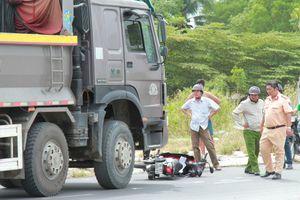 Tử vong sau cú va chạm với ôtô tải ở ngã ba