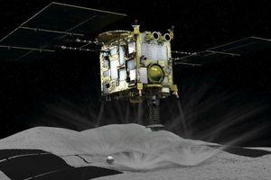 Tàu vũ trụ của Nhật Bản hạ cánh xuống tiểu hành tinh Ruygu