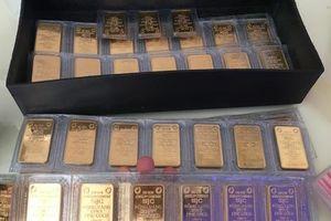 Giá vàng SJC lại giảm, thấp hơn thế giới gần nửa triệu đồng/lượng