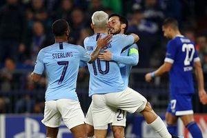 Manchester City lội ngược dòng ngoạn mục trước Schalke 04