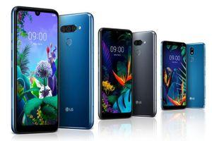 LG công bố 3 smartphone tầm trung mới cho dòng Q và K