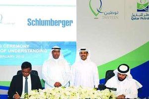 Qatar Petroleum và Schlumberger ký Biên bản ghi nhớ hợp tác trong chương trình Tawteen